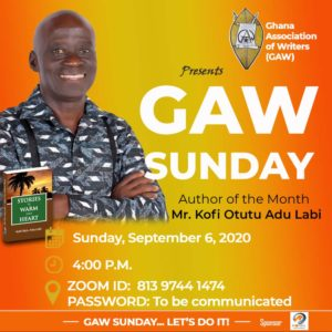GAW Sunday, September 6