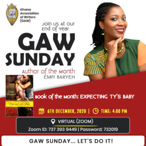 Final GAW Sunday of 2020