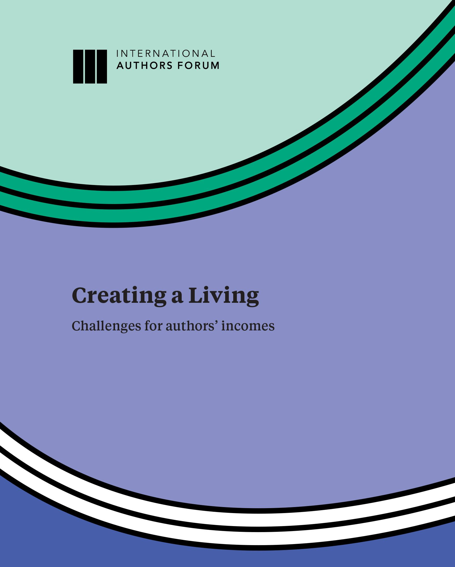 Creating a Living, Challenges for Authors Incomes