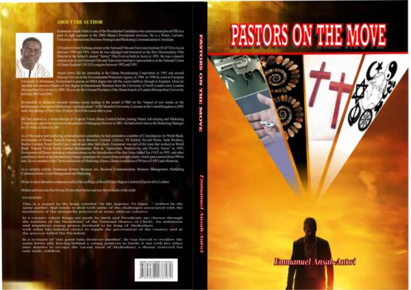 front and back cover of my book Pastors on the Move