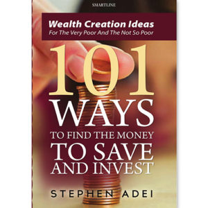 101 Ways to find the Money to save and Invest