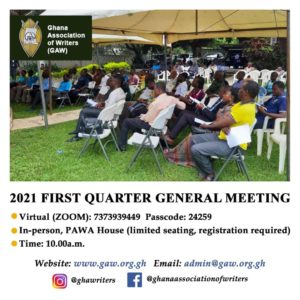 Read more about the article 2021 FIRST QUARTER GENERAL MEETING