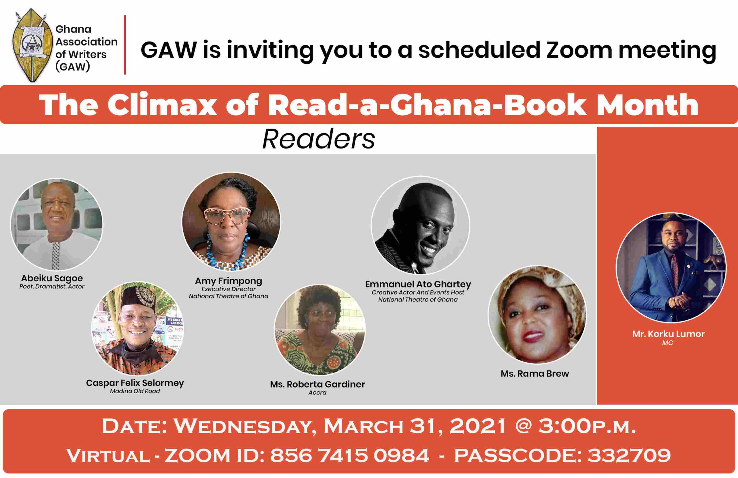 The Climax of Read-a-Ghana-Book Month