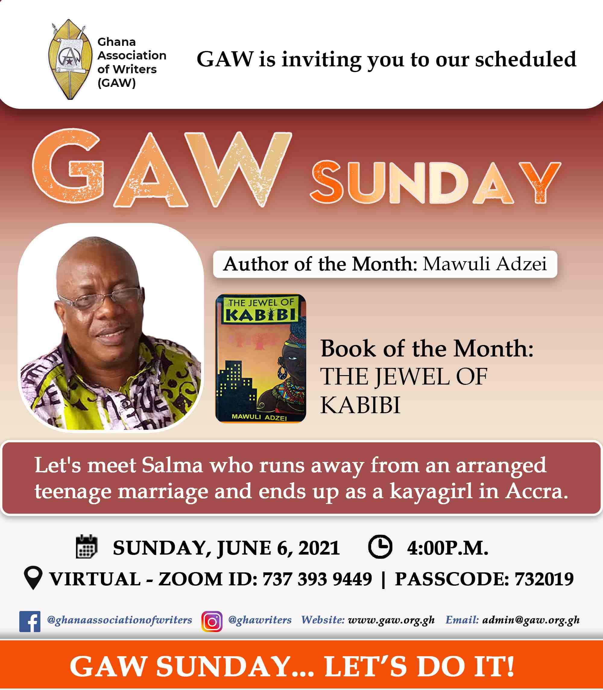 Read more about the article GAW SUNDAY, MAY 2021