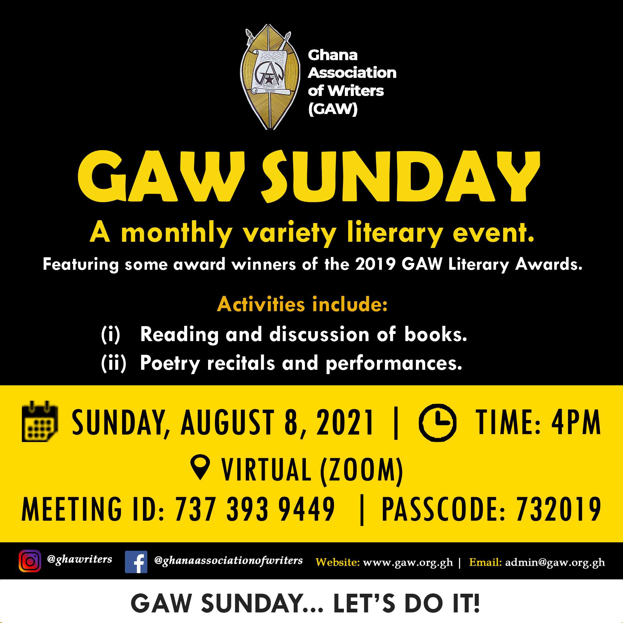 Read more about the article GAW SUNDAY