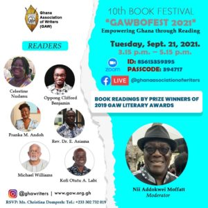 Read more about the article GAWBOFEST 2021 – BOOK READINGS