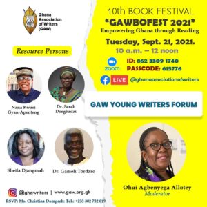 Read more about the article GAWBOFEST – GAW Young Writers Forum