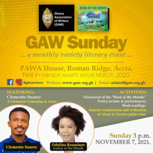 Read more about the article GAW Sunday | November 2021